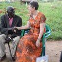 Jean meeting Chief Jildo in 2013