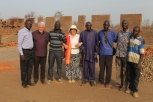 John and Jean, George Oling visited Obbo early 2017.